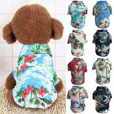 Summer Hawaii Pet Dog Clothes T-shirt For Dogs Cat Vest Puppy Pet Supplies