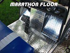 ezgo Marathon Golf Cart Highly Polished Diamond Plate 6 pc. Floor Cover