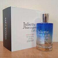Juliette Has A Gun Vanilla Vibes Eau de Parfum 3.3 oz Full Size Sealed