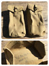 PAIR - British Army Issue - 37 Pattern Webbing Ammo Pouches - Dated 1953