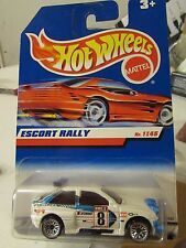 "Hot Wheels Escort Rally ""1 OF DE 45"" White"