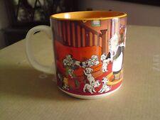 Collectable 2001 WALT DISNEY Classic 101 Dalmatians singalong Mug, RARE, VGC,