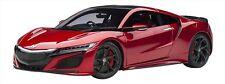 AUTOart 1/18 Honda NSX NC1 2016 Valencia Red Pearl Preorder Japan F/S NEW