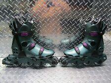 Very Nice Vintage Oxygen Kr,03 Inline Skates Rollerblade 27.0 Green Men's Size 9