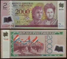 PARAGUAY P228***2000 GUARANIES POLYMER***ND 2011***UNC GEM***LOOK SUPER SCAN