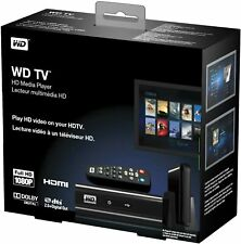 New/Sealed Western Digital 1080P WD TV HD Media Player WDBABF0000NBK-NESN