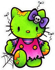 #19 Hello Kitty Zombie Sticker Decal