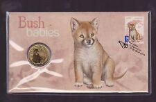 2011 Australian Bush Babies Series The Dingo pup dog $1 Coin Stamp Set PNC FDC