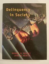 Delinquency in Society, 3rd Ed. Regoli, R & Hewitt, J ('96, Hardback) 0070522030