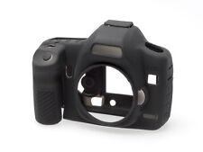 EasyCover Silicone Skin Soft Case Canon EOS 5D Mark 2 II Black (UK Stock) BNIB
