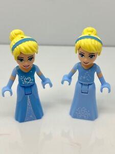 Lego Lot Of 2 Different Disney Princess Cinderella Minifigures