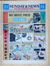 New York Sunday News - 16 page color comic section - Mary Perkins, Aug. 15, 1971