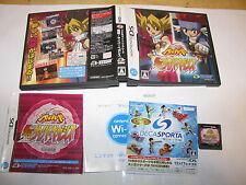 Metal Fight Beyblade Bakutan Cyber Pegasus Nintendo DS NDS Japan import