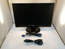 """HP S2031 LCD 20"""" Monitor w/Power Cable, VGA Cable, Stand *Small Scuffs*"""