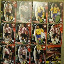 SOUTHAMPTON 12 x WIZARD OF THE COAST FOOTBALL CHAMPIONS 2001-02 Cards