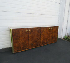 Mid Century Burl Wood TV Cabinet Buffet Sideboard Credenza  by Century 8525