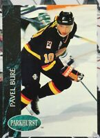 PAVEL BURE 1992 PARKHURST HOCKEY #188 VANCOUVER CANUCKS ROOKIE STATS! M31