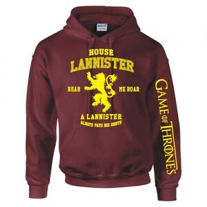 "Game Of Thrones' Maison Lannister "" Capuche"
