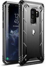 Samsung Galaxy S9 Plus Case Full-Body Cover With Built-in-Screen Protector Black