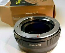 Rollei QBM Lens to Sony a6400 a6300 a6100 NEX7 a6000 a5000 a3500 Camera Adapter