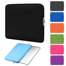 Laptop Sleeve Bag Carry Case Pouch Cover Dual Zipper Waterproof Briefcase Top