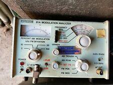 Boonton Electronics 81a Modulation Analyser