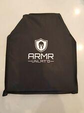 Bulletproof Backpack Insert Panel Shield Lightweight Body Armor Level IIIA 10x12