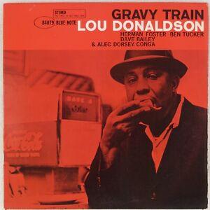 LOU DONALDSON: Gravy Train US Blue Note 84079 RVG EAR Jazz Vinyl LP