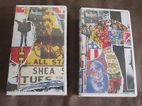 Sealed Promo THE BEATLES Anthology Vol.3&4/Vol5&6 JAPAN VHS TOVW-3243 BACK INLAY