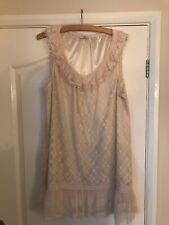 New Look 18 Cream Dress ⭐️stunning Lace detail⭐️