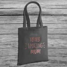 Totes Amazing Mum - Canvas Tote Shopping Bag - Perfect Gift For Mother's Day …