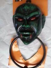 Halloween Door Decor Green Goblin Ghoul Vampire Door Knocker