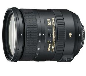 Nikon Nikkor AF-S 18-200mm f/3.5-5.6 DX G ED VR II Lens