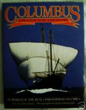 Coffee Table Book COLUMBUS FOR GOLD GOD & GLORY 1990 HC