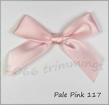 Large Ribbon Bows  Satin Choice of 25 Colours & Packet Size 10, 50, 100, 500