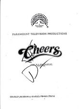 Ted Danson Signed Autographed Cheers Full 49 Page Pilot Episode Script Tv Show