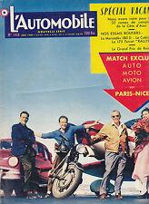 Revue L'AUTOMOBILE N°148 août 1958