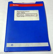 Reparatiebrochure VW Lupo 3 L Onderstel / assen / stuurinrichting ab 1999