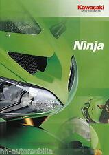 Kawasaki Ninja Prospekt 12/03 2003 brochure ZX 12R 10R 6R 6RR Broschüre catalog