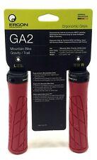 Ergon GA2 Mountain Bike Grips 135mm Berry Red