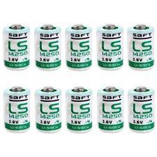 10 X Pile Lithium Saft LS14250 1/2AA 3,6Volt, 3,6V, Lithium-Thionylchlorid
