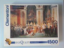 Rare Clementoni Coronation of Napoleon Art.31594 1500 Piece Jigsaw Puzzle