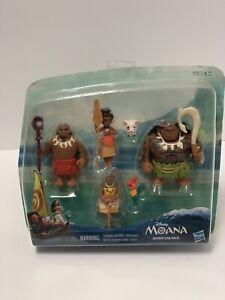 S199 1 12//1Pcs Set Disney Movie Moana Décoration Mini PVC action figures poupées