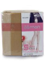 Unbranded No Pattern Polyamide Women's Socks