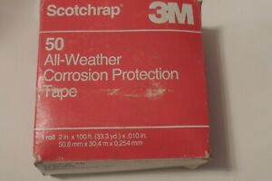 """(4) 3M Scotchrap 50 All Weather Corrosion Protection Tape 2"""" x 33' per Roll NEW"""