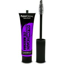Women's Glow In The Dark Violet Eye Mascara Fancy Dress Make Up Halloween Rave