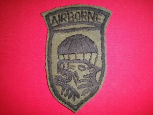 Vietnam War Hand Made Subdued Patch USSF Advisor To ARVN MIKE FORCE AIRBORNE