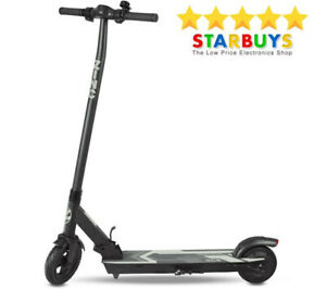 Electric Scooter - Zinc Eco Plus Foldable Scooter For  Adults, Black, UK.