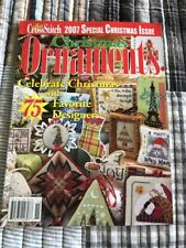 2007 Just Cross Stitch Special Christmas Issue Ornaments 75 Different