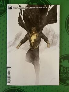 BLACK ADAM Endless Winter Special #1 2021 DC The Rock Bosslogic Variant Shazam!